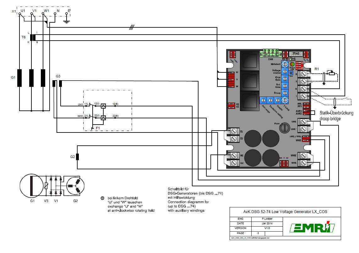 DSG 52-74 Low Voltage
